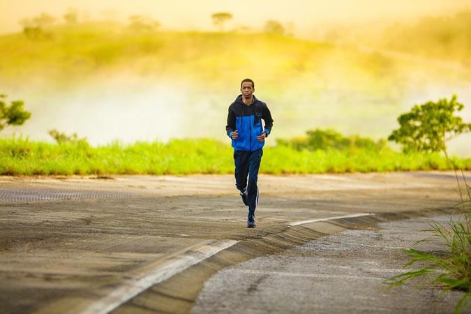 La course à pieds
